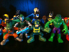 MARVEL ACTION FIGURES SUPER HERO SQUAD IMAGINEXT HULK SPIDERMAN BATMAN CHRISTMAS