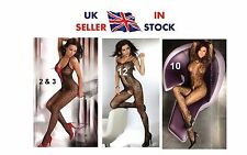 UK SELLER Livia Livco Corsetti Crotchless Bodystocking Bodysuit Catsuit All Size