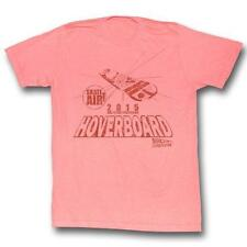 Back To The Future Hover Peach Neon Peach Gray S M L Xl Adult Men T-Shirt Tee