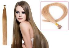 "16"" Indian Remy AAA Grade Double Drawn Stick Tip Human Hair Extensions x200 0.9g"
