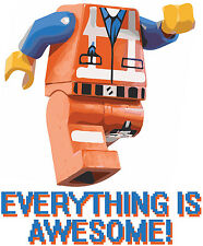 LEGO Movie Everything is Awesome Inspired Emmet Master Builder LEGO