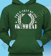 Skinhead Hoody  Hoodie  The Spirit of 1969 sixties 60's Many Colours Unique 70's