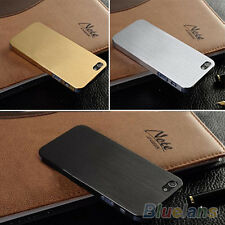Hot Sale Thin Metal Aluminum Case Cover Shell Back For Iphone 4 4S 5 5S B28U