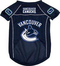 Vancouver Canucks NHL Pet dog jersey mesh (all sizes) NEW