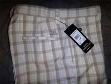 ADIDAS GOLF PLAID SHORT SIZE 34 30  MENS NWT $65.00