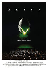 Alien V2 - A1/A2 Poster **BUY ANY 2 AND GET 1 FREE OFFER**