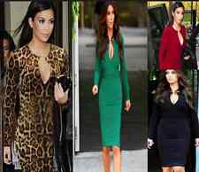 DS02 Ladies Fashionable Celeb Long Sleeve Bodycom Stretchable Dress