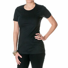 Womens NLA Fitted Cotton/Poly Blend Crew Neck CVC Tee