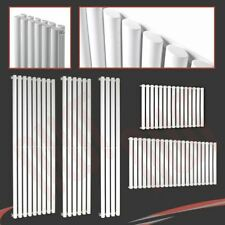 Brecon Oval Tube Vertical & Horizontal Designer White Radiators Single & Doubles