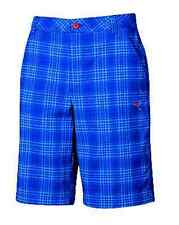 PUMA Golf Mens Plaid Tech Bermunda Golf Shorts Surf the Web NWT W30