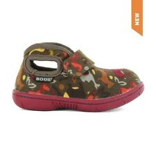 BOGS BABY OLIVE VELCRO ZOO CANVAS SHOE