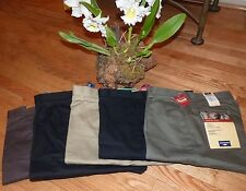 DOCKERS Mens Pants Original CLASSIC Khakis Comfort Individual Fit 100% Cotton