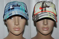 Nike Golf Women's Plaid Mesh Back Adjustable Hat Cap Sz OS several colors **