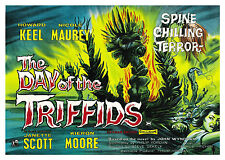 The Day of the Triffids - A1/A2 Poster **BUY ANY 2 AND GET 1 FREE OFFER**