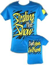 Dolph Ziggler Blue Stealing the Show And Your Girlfriend Mens T-shirt
