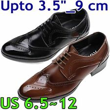 "HEIGHT INCREASING ELEVATOR SHOES_Upto 3.54""/ 9cm_US 6.5~12_AU-01-2"