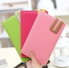 New Simple travel ticket holder multifunction document sets paragraph passport