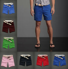 NWT ABERCROMBIE&FITCH Mens Raquette River Classic Shorts w/Belt - NEW