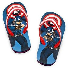 CAPTAIN AMERICA The Winter Soldier~FLiP FLoPS~Marvel~Boys~Child~NWT~Disney Store
