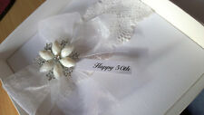 Luxury Handmade Wedding Cards - Many Designs - All Boxed