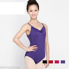 HenryG Dance Wear, Pinch Front Camisole Tactel Leotard, HGB-4854