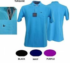 OAKMAN EXTRA TALL PURE COTTON PIQUE POLO SHIRT IN SIZE MT TO 4XLT, 4 COLORS