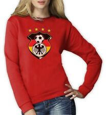 Germany World Cup Soccer Women Sweatshirt Football jersey Eagle Crest Crew 2014