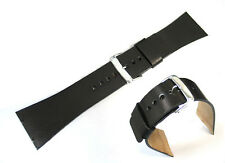 Genuine Leather Watch Strap / Band Replacement for Skagen 833XLSLB, 833XLSLN