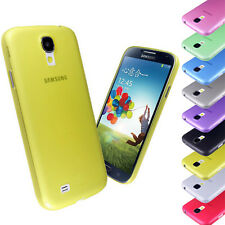 New For Samsung Galaxy S4 i9500 Frosted Transparent Ultra Thin Phone Case Cover