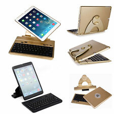 Cover Case with Swivel Rotary Stand + Bluetooth Wireless Keyboard for iPad 5 Air