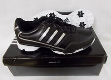 New Adidas Golflite Traxion Golf Shoes Q46709 - Black/Silver/White
