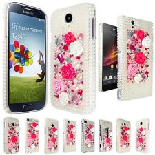 PRINCESS DIAMOND CRYSTAL CASE COVER FOR VARIOUS MOBILE PHONE