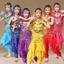 KID's Professional Belly Dance Costumes set Party Halloween Costumes for Girl