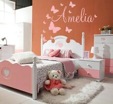 GIRLS NAME Bedroom Stencil Wall Art Decal Sticker Super SIZES