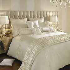 Kylie Minogue Bedding- KARISSA Luxury Faux Satin Cream Bed Linen / Bedding Range
