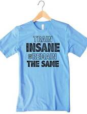 Train Insane Or Remain The Same Women's Workout Top Runnin Weightlift Fitness