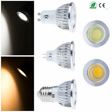 Wholesale 5/10 pcs Dimmable E27 MR16 GU10 6W 9W 12W COB LED Spotlight Bulb Lamp