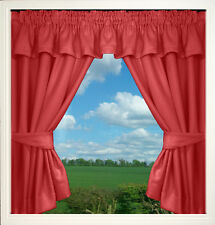 STATIC CARAVAN CURTAINS THERMAL BACKED EXCELLENT QUALITY 5 COLOURS READY MADE