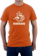 Netherlands Football T-Shirt Holland Nederland Dutch Team Soccer World Cup 2015