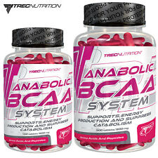 ANABOLIC BCAA SYSTEM 150/300 TAB. WHEY PROTEIN PILLS MUSCLE GROWTH AMINO ACIDS