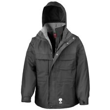 (Free PnP) Result Mens 3-in-1 Hooded Zip-Up Performance Jacket L M S XL 2XL
