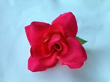 PINK FLOWER HAIR CLIP FOR MEXICAN FIESTA,5 DE MAYO,DAY OF THE DEAD,WEDDING