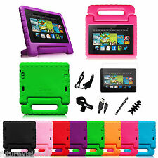 Fintie 2013 Kindle Fire HDX 7 Kiddie Case Stand Cover Light Weight Shock Proof