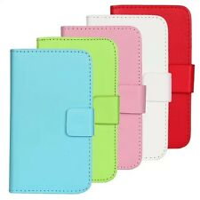 Color leather slot wallet stand Cover Case for LG Optimus L7 II P710 / L7X P714