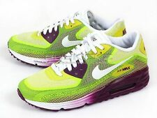 Nike Wmns Air Max Lunar90 C3.0 Running Bright Grape/White-Venom Green 631762-500