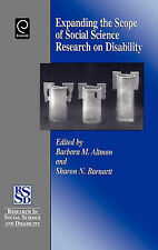 Expanding the Scope of Social Science Research on Disability by Emerald Group...