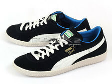 Puma Brasil Football VNTG 2014 Fashion Suede Casual Shoes Black-White 356156 03