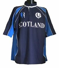 **NEW** MENS BIG SIZE BAINS & SCOTT SCOTLAND RUGBY TOP 2XL 3XL 4XL 5XL COTTON