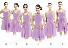 Short Bridesmaid Dresses 6 Styles Wedding Party Prom Gowns Size All 2015 New TOP