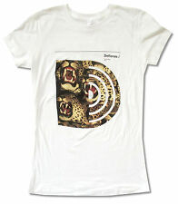"DEFTONES ""LEOPARD"" WHITE BABY DOLL T-SHIRT KOI NO YOKAN TOUR NEW OFFICIAL JRS"